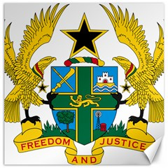 Coat of Arms of Ghana Canvas 20  x 20