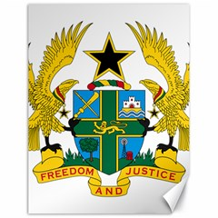 Coat of Arms of Ghana Canvas 18  x 24