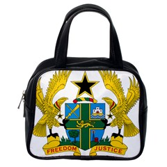 Coat of Arms of Ghana Classic Handbags (One Side)