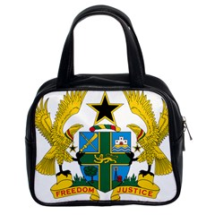 Coat of Arms of Ghana Classic Handbags (2 Sides)