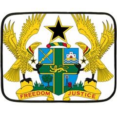 Coat of Arms of Ghana Double Sided Fleece Blanket (Mini)