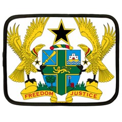 Coat of Arms of Ghana Netbook Case (XXL)