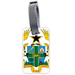 Coat of Arms of Ghana Luggage Tags (One Side)