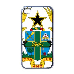 Coat of Arms of Ghana Apple iPhone 4 Case (Black)