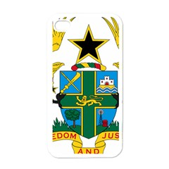 Coat of Arms of Ghana Apple iPhone 4 Case (White)