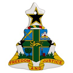 Coat of Arms of Ghana Christmas Tree Ornament (Two Sides)