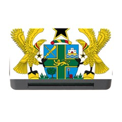Coat of Arms of Ghana Memory Card Reader with CF