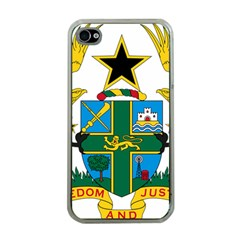 Coat of Arms of Ghana Apple iPhone 4 Case (Clear)