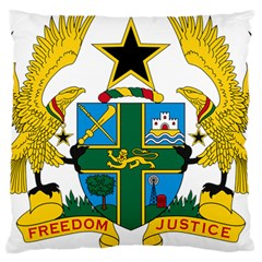 Coat of Arms of Ghana Large Cushion Case (One Side)