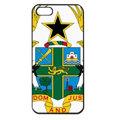 Coat of Arms of Ghana Apple iPhone 5 Seamless Case (Black)