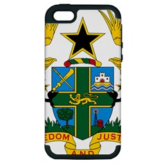 Coat of Arms of Ghana Apple iPhone 5 Hardshell Case (PC+Silicone)