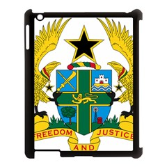 Coat of Arms of Ghana Apple iPad 3/4 Case (Black)