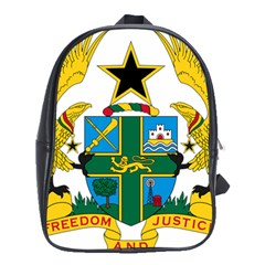 Coat of Arms of Ghana School Bags (XL)