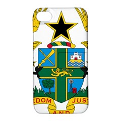 Coat of Arms of Ghana Apple iPhone 4/4S Hardshell Case with Stand