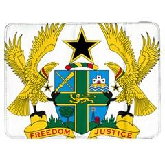 Coat of Arms of Ghana Samsung Galaxy Tab 7  P1000 Flip Case