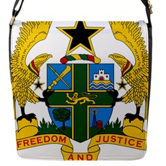 Coat of Arms of Ghana Flap Messenger Bag (S)