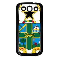 Coat of Arms of Ghana Samsung Galaxy S3 Back Case (Black)