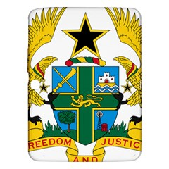 Coat of Arms of Ghana Samsung Galaxy Tab 3 (10.1 ) P5200 Hardshell Case