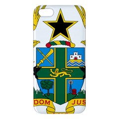 Coat of Arms of Ghana iPhone 5S/ SE Premium Hardshell Case