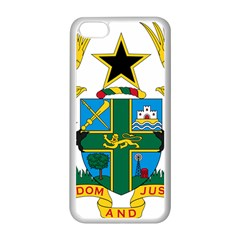 Coat of Arms of Ghana Apple iPhone 5C Seamless Case (White)