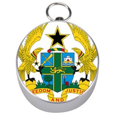 Coat of Arms of Ghana Silver Compasses