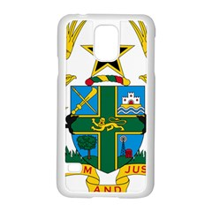 Coat of Arms of Ghana Samsung Galaxy S5 Case (White)