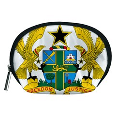 Coat of Arms of Ghana Accessory Pouches (Medium)