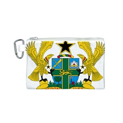 Coat of Arms of Ghana Canvas Cosmetic Bag (S)