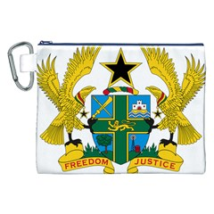 Coat of Arms of Ghana Canvas Cosmetic Bag (XXL)