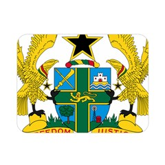 Coat of Arms of Ghana Double Sided Flano Blanket (Mini)