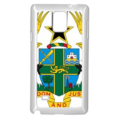 Coat of Arms of Ghana Samsung Galaxy Note 4 Case (White)