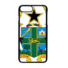 Coat of Arms of Ghana Apple iPhone 7 Plus Seamless Case (Black)