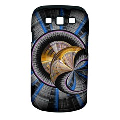 Fractal Tech Disc Background Samsung Galaxy S III Classic Hardshell Case (PC+Silicone)