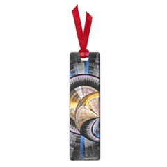 Fractal Tech Disc Background Small Book Marks