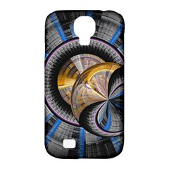 Fractal Tech Disc Background Samsung Galaxy S4 Classic Hardshell Case (PC+Silicone)