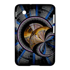 Fractal Tech Disc Background Samsung Galaxy Tab 2 (7 ) P3100 Hardshell Case