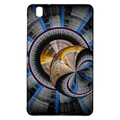 Fractal Tech Disc Background Samsung Galaxy Tab Pro 8.4 Hardshell Case