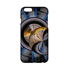 Fractal Tech Disc Background Apple iPhone 6/6S Hardshell Case