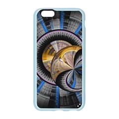 Fractal Tech Disc Background Apple Seamless iPhone 6/6S Case (Color)