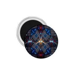 Fancy Fractal Pattern 1 75  Magnets