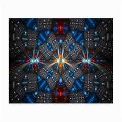 Fancy Fractal Pattern Small Glasses Cloth