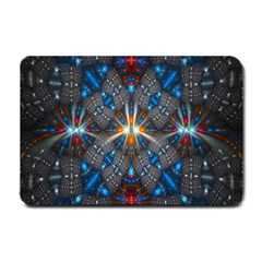 Fancy Fractal Pattern Small Doormat