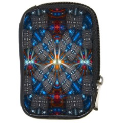 Fancy Fractal Pattern Compact Camera Cases