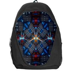 Fancy Fractal Pattern Backpack Bag