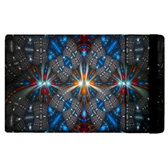 Fancy Fractal Pattern Apple iPad 3/4 Flip Case