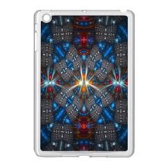 Fancy Fractal Pattern Apple Ipad Mini Case (white)