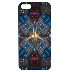 Fancy Fractal Pattern Apple iPhone 5 Hardshell Case with Stand