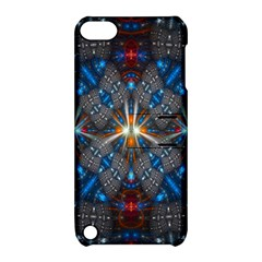 Fancy Fractal Pattern Apple iPod Touch 5 Hardshell Case with Stand