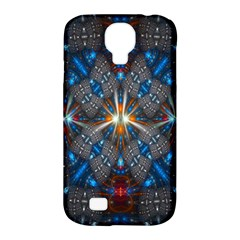 Fancy Fractal Pattern Samsung Galaxy S4 Classic Hardshell Case (PC+Silicone)