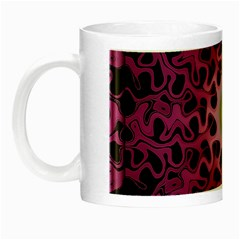 Cool Fractal Night Luminous Mugs